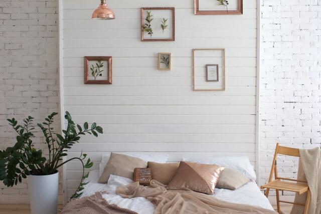 可愛いベッドルーム