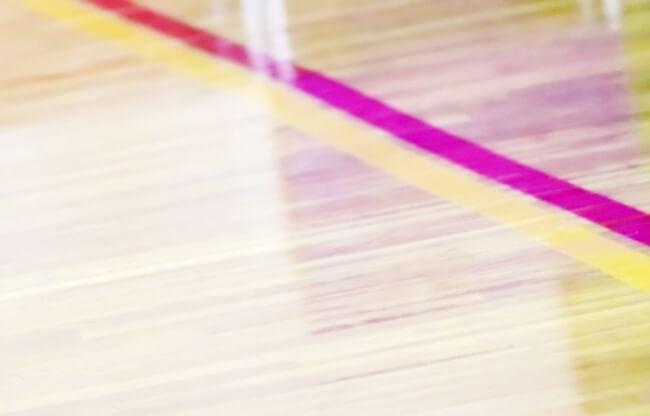 体育館の床