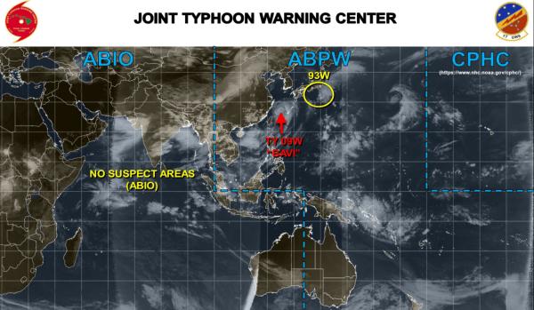 台風9号?93w 2020-08-24