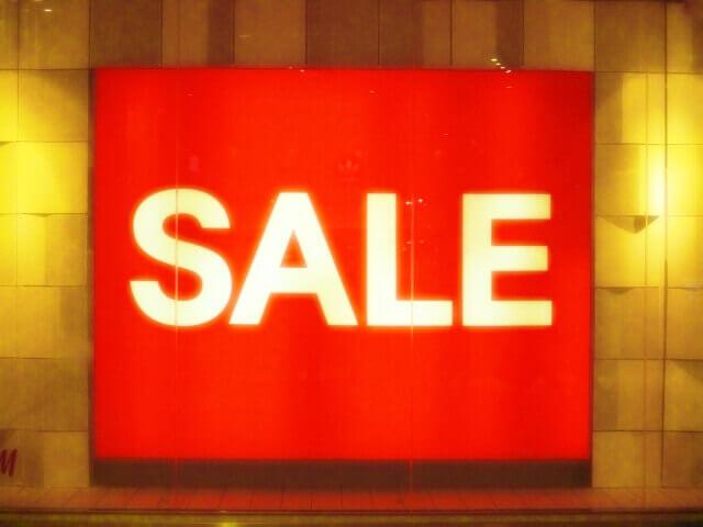 セールの画像