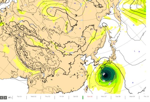 台風10号ヨーロッパ2020-09-02 (1)