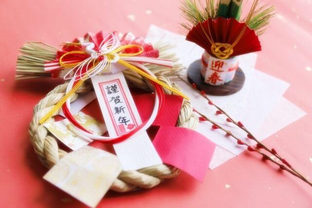 お正月謹賀新年
