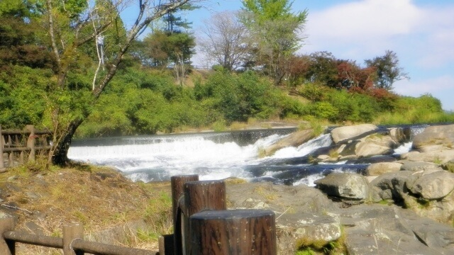 川内川上流木曽の滝