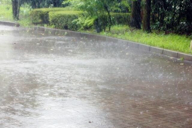台風による大雨