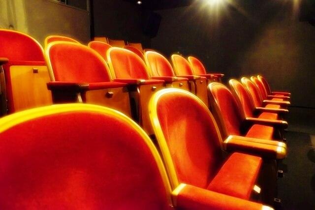 映画館の椅子