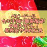 ベビードールの女の子向け新春福袋【2021年】中身ネタバレ!発売日や予約方法も調査