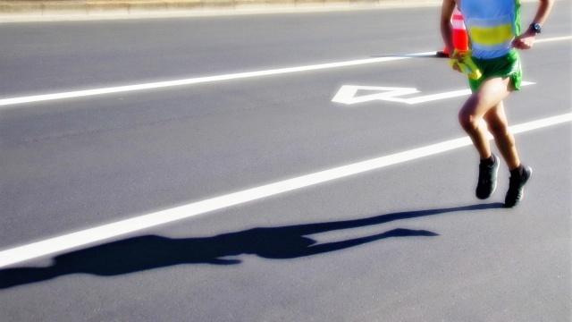 箱根駅伝を走る選手のイメージ