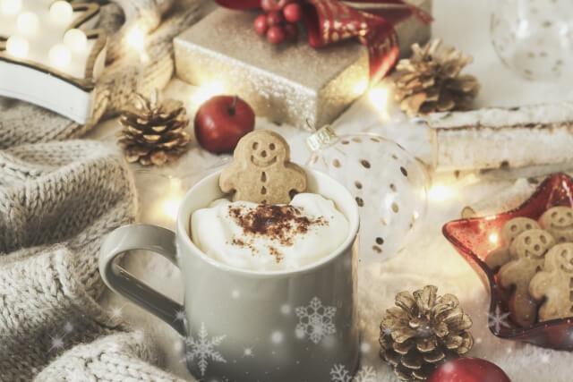 Christmasのジンジャークッキー