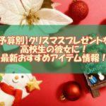 【予算別】クリスマスプレゼントを高校生の彼女に!2020年の最新おすすめアイテム情報!