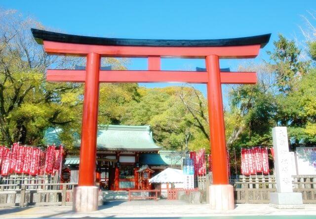 静岡浅間神社の鳥居