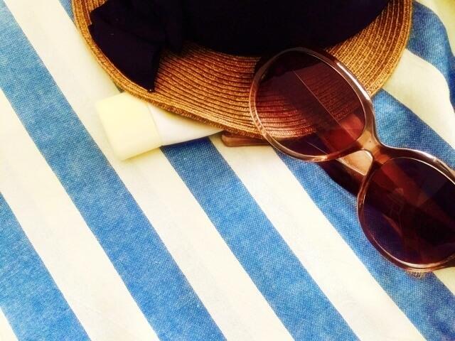 夏の日焼け対策グッズ