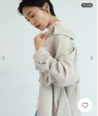 カデュネのジャケット