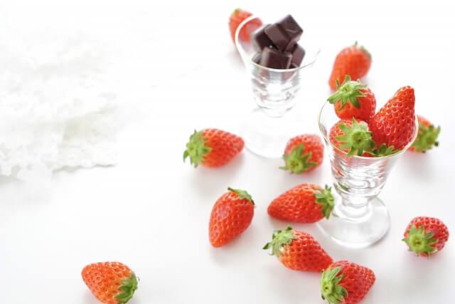 苺とチョコ