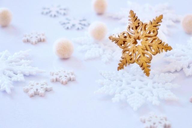 雪の結晶の柔らかさ